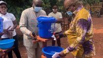 Sud & Nord-Ubangi: Caritas Congo par son projet «Un Monde Sans Faim» en campagne contre la Covid19
