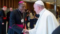 Mgr Fridolin Ambongo : « Je place mon cardinalat sous le signe de rassemblement et de réconciliation de toutes les filles et tous les fils de la RD Congo »