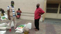 Kinshasa : 8.000 ménages vulnérables affectés par la Covid19 bénéficient d'une aide alimentaire et des lave-mains de la Caritas Congo Asbl et CRS sous un financement du  Center for Disaster Philanthropy (CDP)