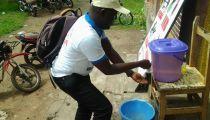 Contribution du Réseau Caritas à la riposte contre Ebola: des vivres, kits WASH et sensibilisation