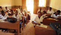 Haut-Uélé : trois salles de classe de l'institut Sainte Thérèse d'Isiro  réhabilitées par Caritas