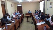 Le Chef du Service Afrique de la Caritas Allemagne en séance de travail avec Caritas Congo Asbl