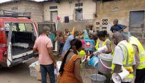 KINSHASA: 5 Formations Sanitaires des Confessions Religieuses dotées en matériels de protection et d'hygiène sanitaire contre la Covid19