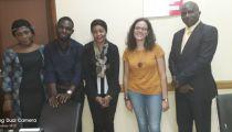 RD. Congo : Une stagiaire italienne à la Caritas Congo Asbl face à l'intérêt des projets de celle-ci concernant les enfants de moins de 18 ans