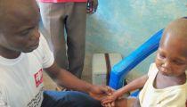 Caritas Congo Asbl en RD. Congo : Les pas du « Projet de Réhabilitation Nutritionnelle d'urgence »