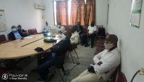 Covid-19 en RDC : Caritas Congo Asbl a briefé les Points Focaux des Formations Sanitaires bénéficiaires de projet d'appui avec ACHAP