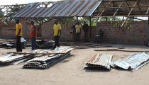 Bumba/ Mongala : la toiture du complexe scolaire « Les Etoiles » à Moluwa emportée par un vent violent