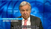 Covid-19 : les personnes âgées doivent être une priorité, souligne le chef de l'ONU
