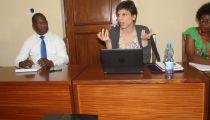La Chargée de Caritas Espagne pour la RDC et le Burundi en visite de travail à la Caritas Congo Asbl