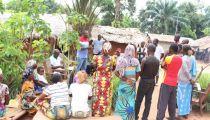 Nord-Ubangi : l'Association Villageoise d'Epargne et Crédit, une activité du projet « Un Monde Sans Faim », attire les mamans de Molegbe