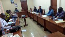 Programme A2P-DIRO : Une délégation de l'AFD en mission d'évaluation chez Caritas Congo Asbl