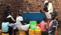 Caritas Kongolo: Gestion des bornes fontaines dans la cite de kongolo