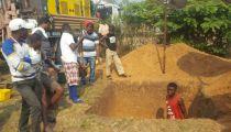 Lancement des travaux d'adduction d'eau de boisson à la Cathédrale Mwense Anuarite