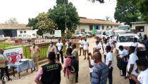RDC : Caritas en campagne de mobilisation communautaire contre le Covid-19 à travers la capitale
