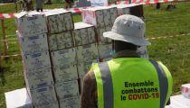 Lutter contre le covid-19 : Caritas Développement-Goma distribue des savons à 1.578 ménages dans les sites des déplacés