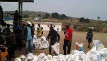 Kinshasa: des vivres et articles ménagers essentiels du Gouvernement aux victimes des pluies