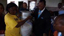 Crise du Kasaï : 500 ménages déplacés/retournés de Tshikapa et ses environs assistés par la Caritas