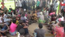 Les peuples autochtones du territoire de Lubao informés de l'état d'avancement du projet PACDF