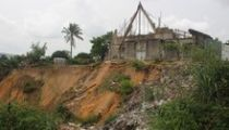 Kinshasa: Caritas Congo à Selembao pour s'enquérir de la situation des victimes de dernières pluies