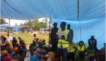 Tanganyika: 7.230 déplacés et retournés de Nyunzu et Kabambare assistés en vivres et non vivres par Caritas Kongolo