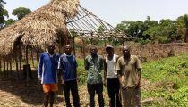 Mongala: appuyées par Caritas, des victimes des inondations à Lolo en cours de délocalisation