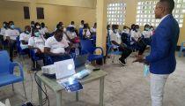 Kinshasa : des étudiants-sensibilisateurs de l'IFAD formés contre la Covid19